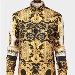 Versace Shirts - BAROCCO SS'92 SILK SHIRT
